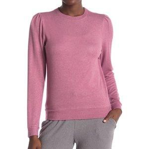 Joe's Jeans Pink Ladies Knit Sweatshirt S L XL